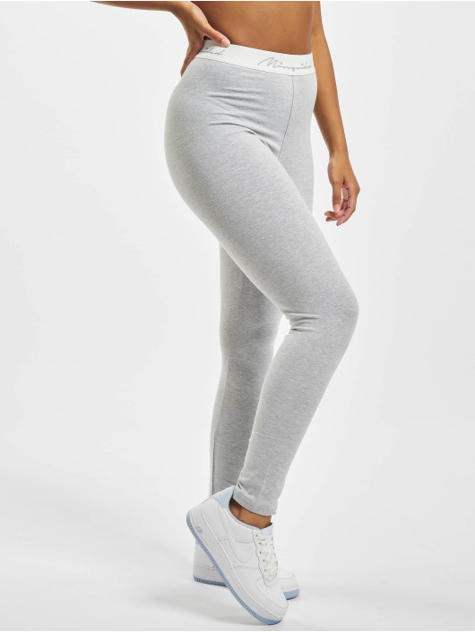 Missguided Leggings Script Tape grå