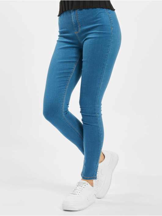 Missguided Leggings/Treggings Outlaw blå