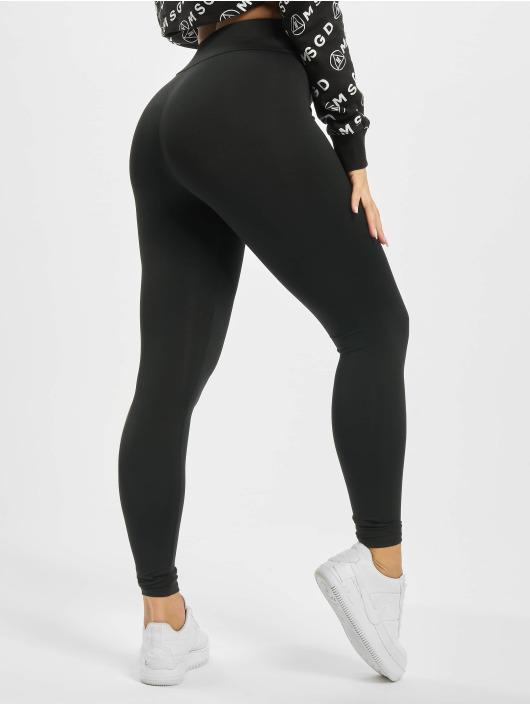 Missguided Leggings/Treggings Full Length czarny