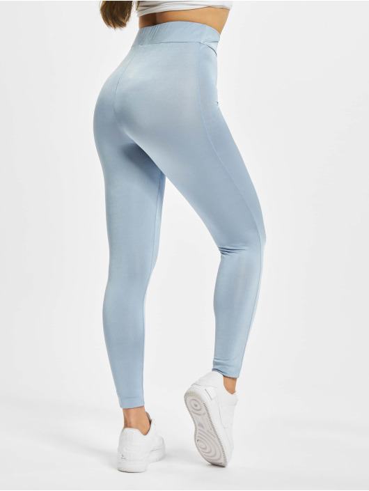 Missguided Leggings/Treggings Disco niebieski