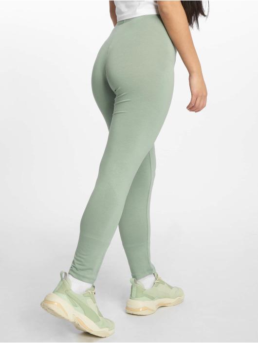 Missguided Leggings/Treggings Full Length zielony