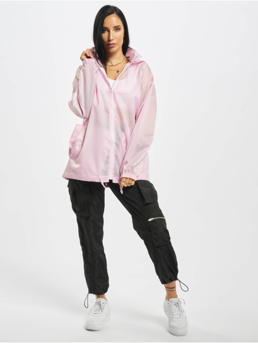 Missguided Lightweight Jacket Bumbag Pac A Mac rose