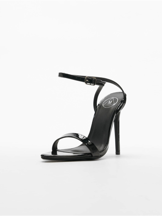 Missguided Lodičky Pointed Toe Barely There Patent èierna
