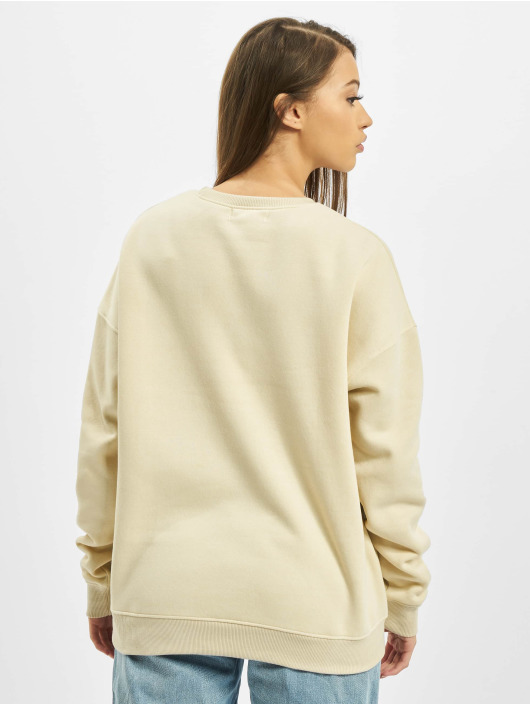 Missguided Maglia Cropped Branded beige