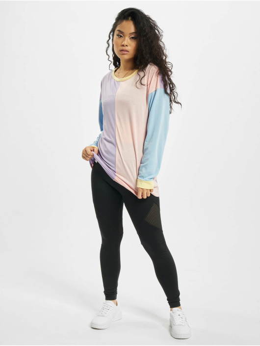 Missguided Maglia 4 Colour Block Over Size variopinto