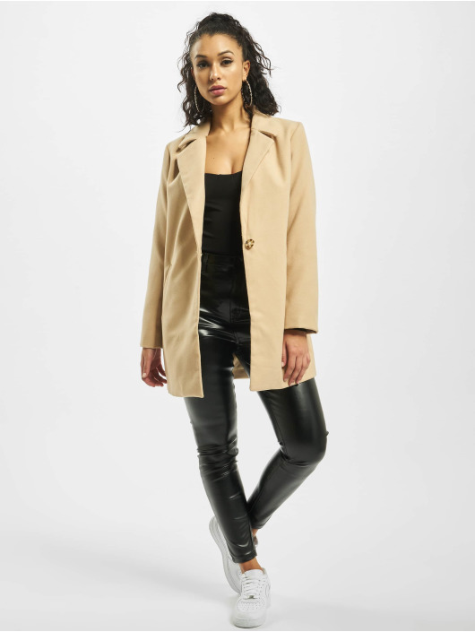 Missguided Manteau Petite Ultimate Formal beige