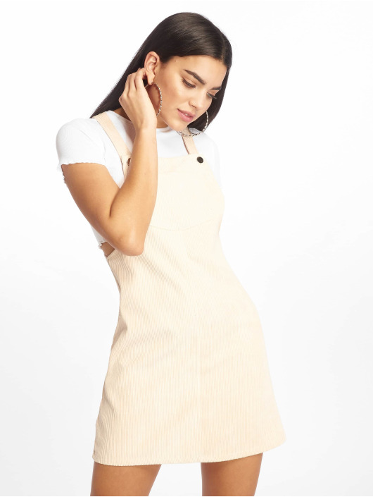 Missguided Mekot Cord Pinafore beige