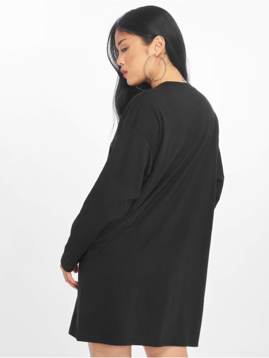 Missguided Mekot Oversized Zip Front Ls musta