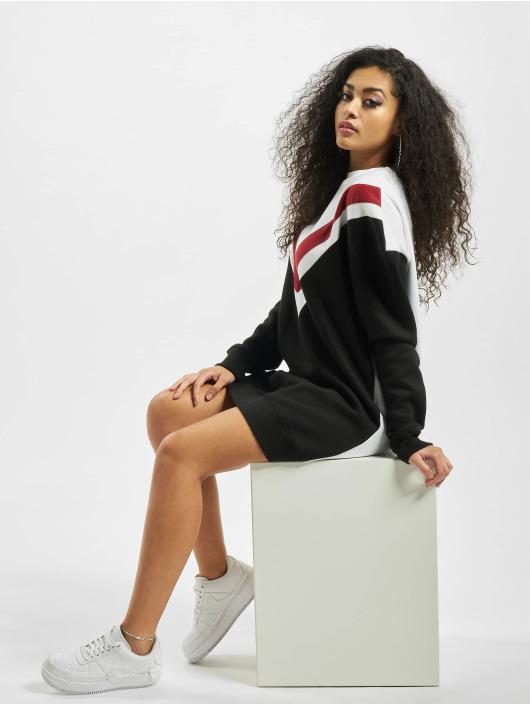 Missguided Mekot Colour Block Sweater V musta