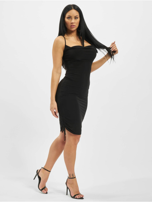 Missguided Mekot Slinky Cowl Ruched Tie musta
