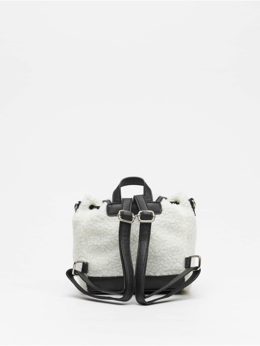 Missguided Mochila Borg Mini blanco