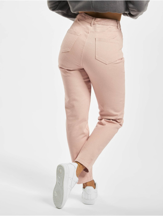 Missguided Mom Jeans Riot Co Ord rose