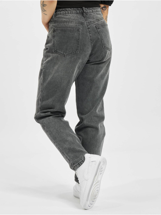 Missguided Mom Jeans Petite Riot Highwaisted M zwart