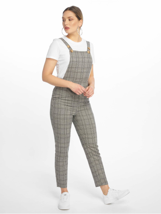Missguided Monos / Petos Grey Check gris