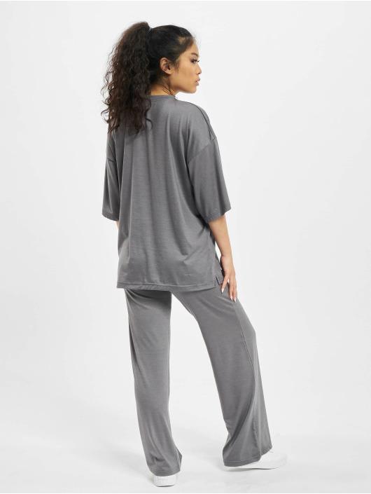 Missguided Obleky Coord Jersey šedá