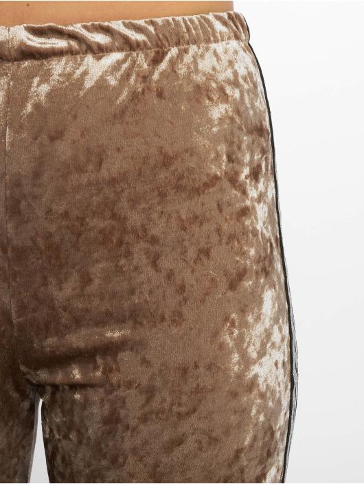Missguided Obleky Cyclying hnědý