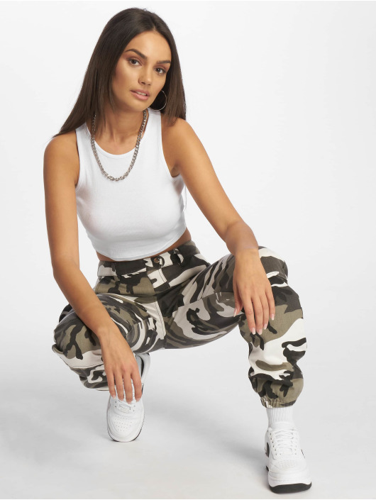 Missguided Pantalon cargo Premium gris