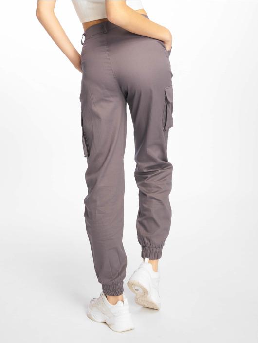 Missguided Pantalon cargo Plain gris