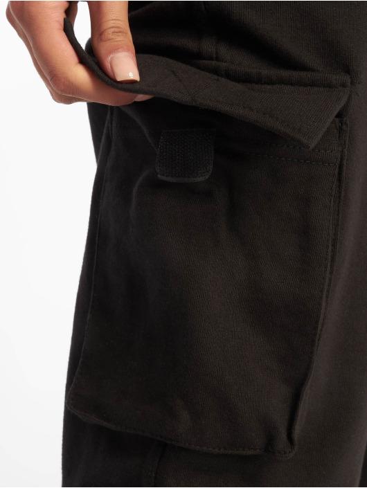 Missguided Pantalon cargo Utility Pocket noir