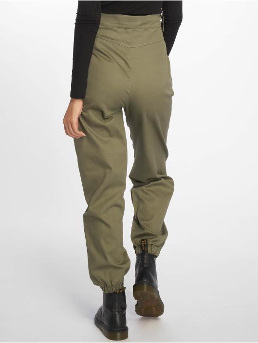 Missguided Pantalon chino Slim Leg kaki