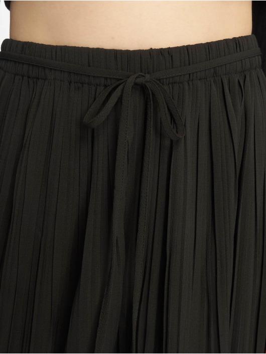 Petite Chino 671358 Femme Missguided Noir Pleated Pantalon uXZOkPiT