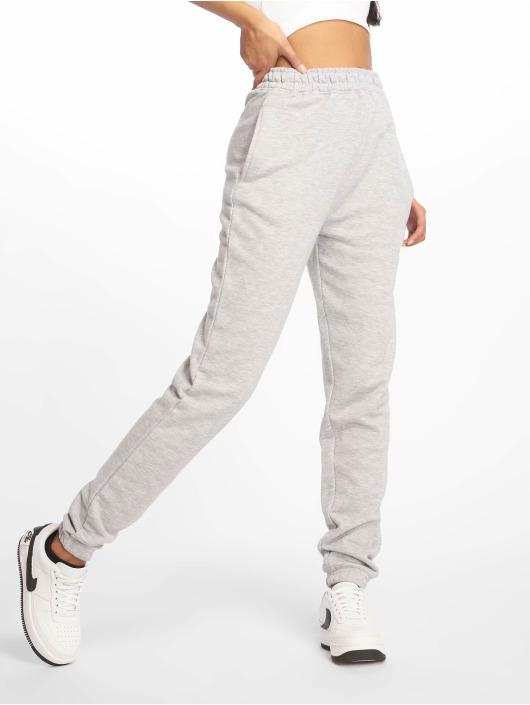 Missguided Pantalón deportivo Tall Grey Marl Basic gris