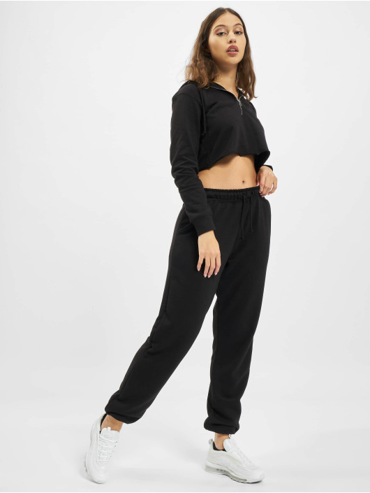 Missguided Pantalón deportivo 90s Oversized negro