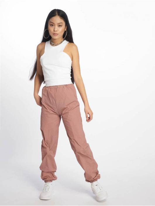 Missguided Pantalón deportivo 80s Nylon rosa