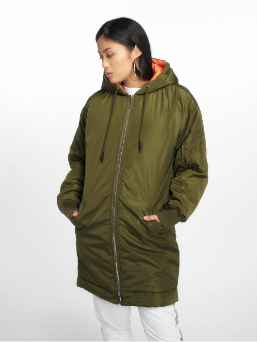 Missguided Parka Longline Hybrid cachi