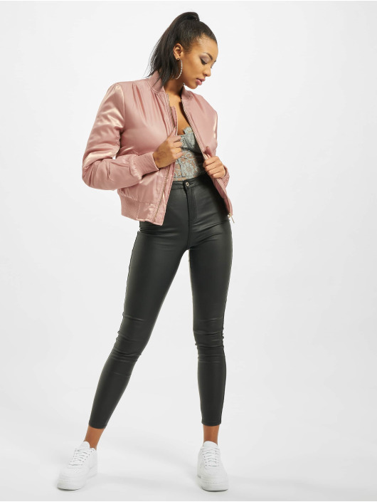 Missguided Pilotjakke Ultimate MA1 rosa