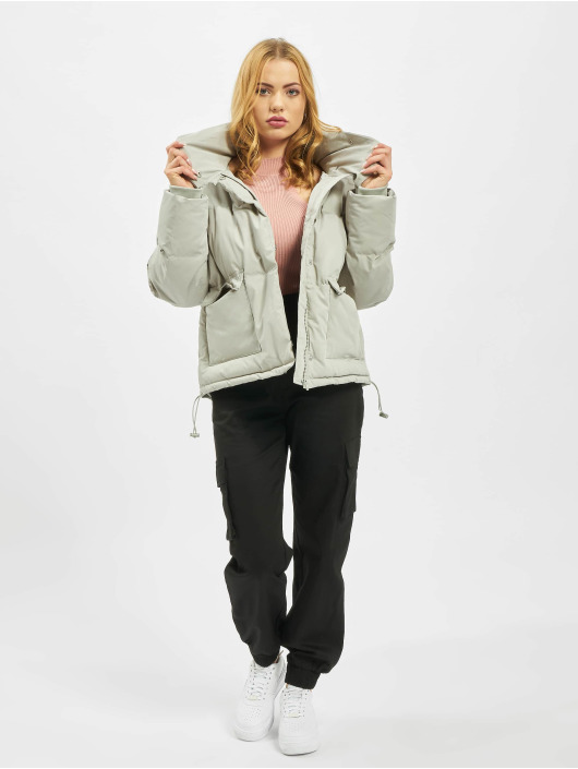 Missguided Puffer Jacket Ultimate grey