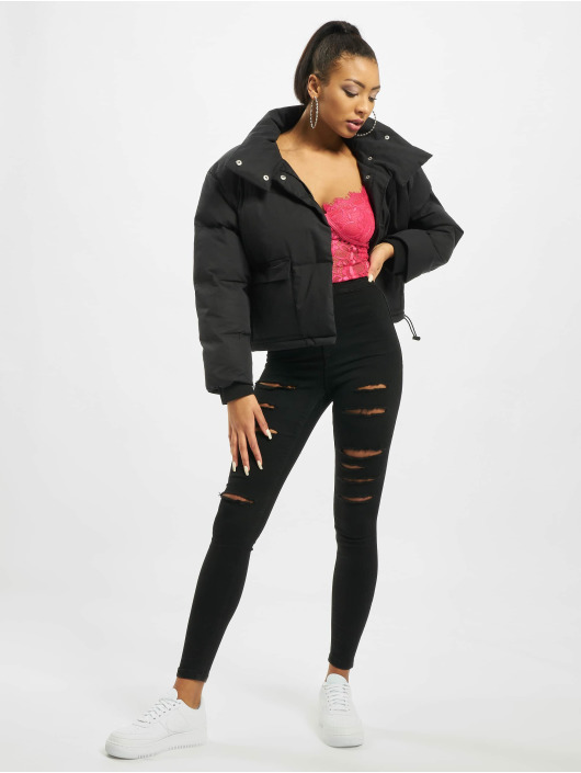 Missguided Puffer Jacket Petite Ultimate schwarz