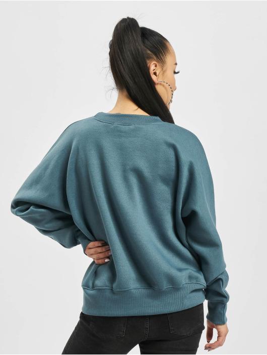 Missguided Pullover Oversize blau