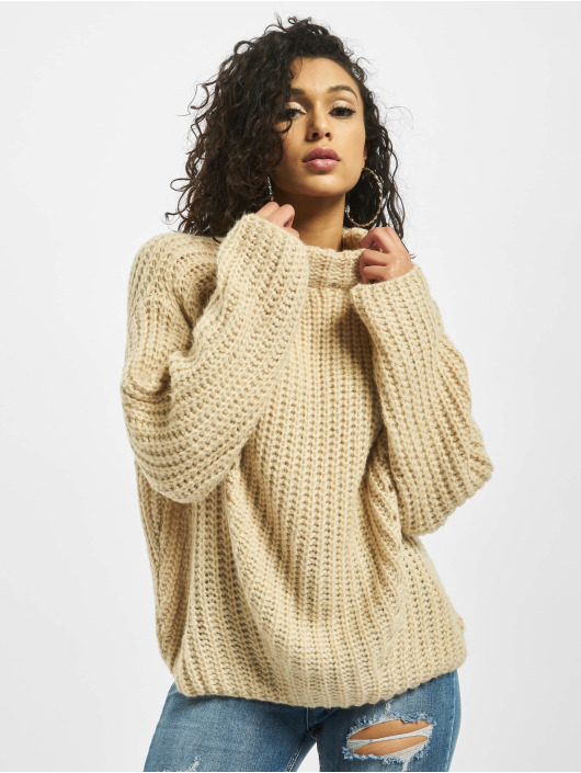 Missguided Pullover Chunky Grown On Neck gray