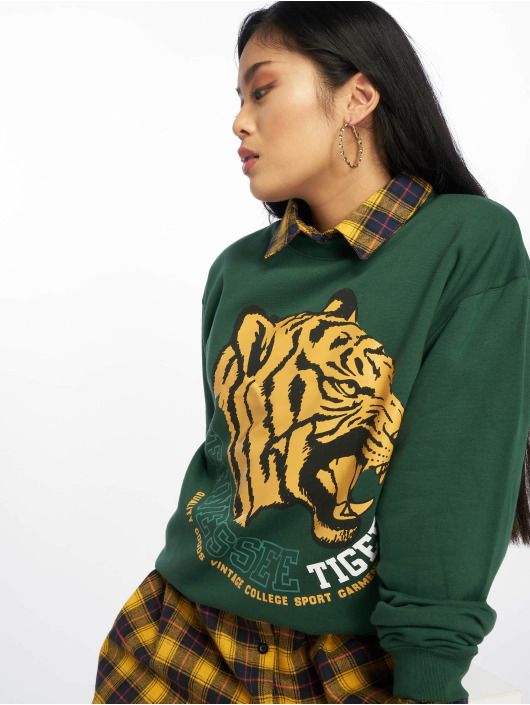 Missguided Pullover Tennessee Tigers Graphic green