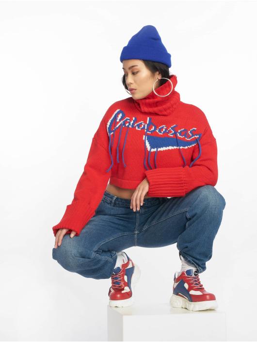 Missguided Pullover Calabasas Tassel red