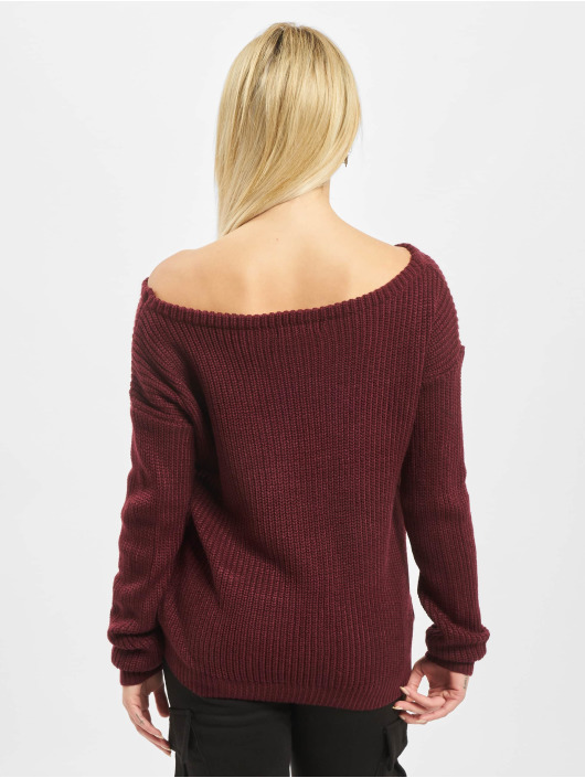 Missguided Pullover Ophelita red