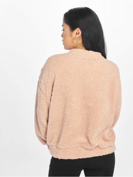Missguided Pullover Pocket Front rosa