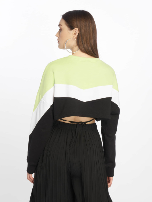 Missguided Pullover Petite Colourblock schwarz