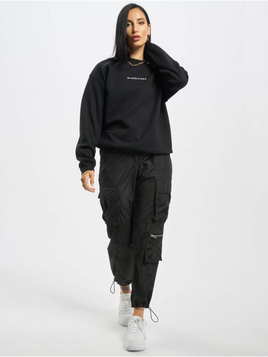 Missguided Pullover Oversized schwarz