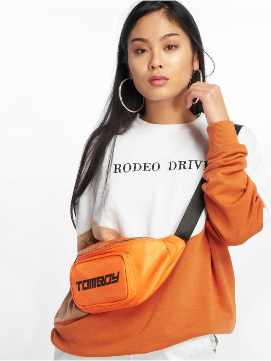 Missguided Pullover Rodeo Drive Colourblock weiß