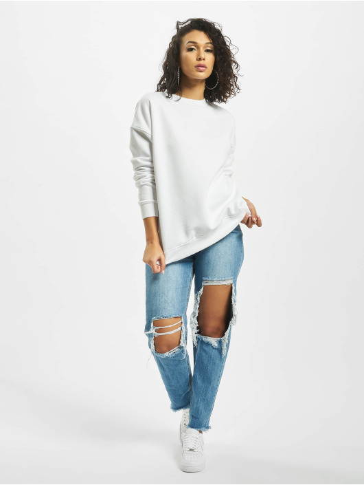 Missguided Pullover Basic Oversized white