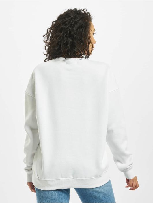 Missguided Pulóvre Basic Oversized biela