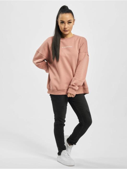Missguided Pulóvre Basic Oversized ružová