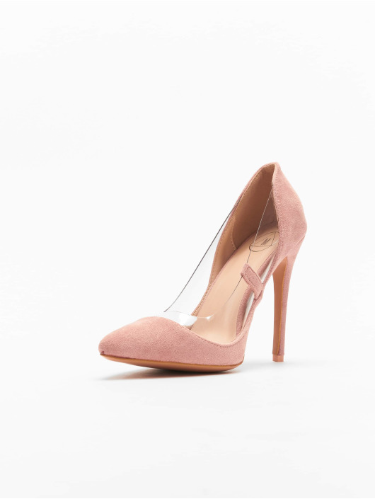 Missguided Pumps Perspex Trim Court ros