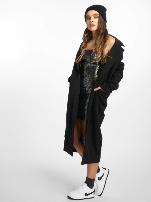 Missguided Robe Sewn Through Disc argent
