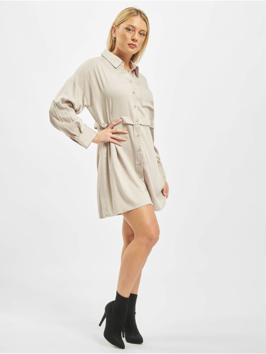 Missguided Robe Utility beige