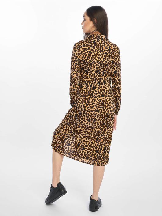 Missguided Robe Midi Leopard brun