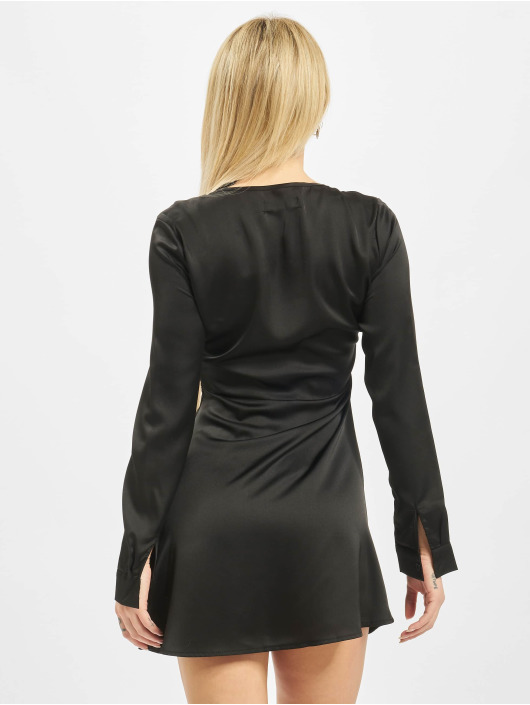 Missguided Robe Hook And Eye noir