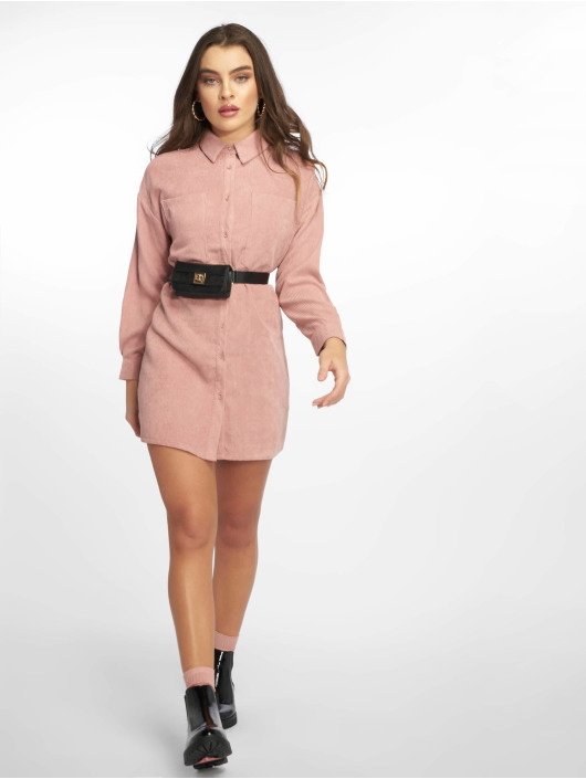 Missguided Robe Oversized rose
